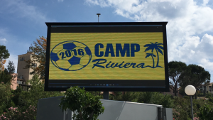 Camp Riviera_Big screen